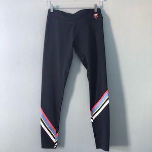 🌸 Fila | Navy legging with stripes